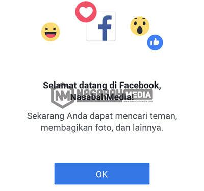 Mendaftar Facebook
