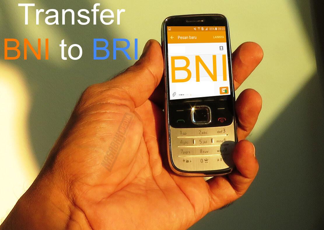 Transfer SMS Banking BNI ke BRI